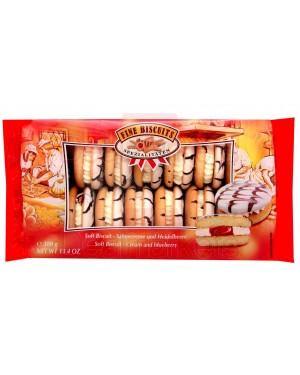 Μπισκότο σάντουιτς Fine κρέμα μύρτιλλο 380gr