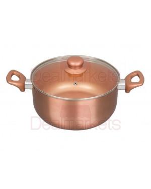 Κατσαρόλα Keystone κεραμική copper επαγωγική Νο24
