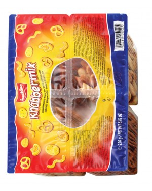 Crackers Snackline ανάμεικτα σε κασετίνα 250gr