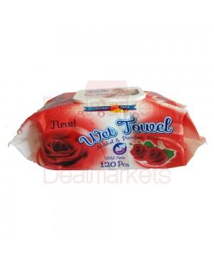 Lara Μωρομάντηλα τριαντάφυλλο 120τεμ