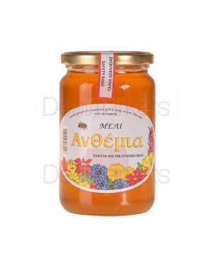 Μέλι ανθέων Ανθέμια βάζο 900gr