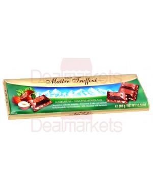 Σοκολάτα γάλακτος Maitre Truffout με φουντούκια 300gr