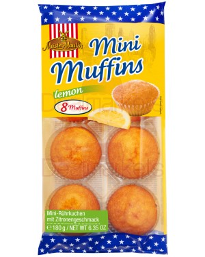 Muffins mini Meister moulin με λεμόνι 180gr