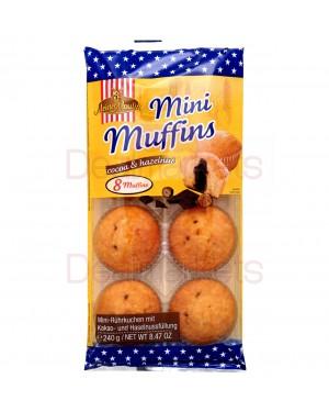 Muffins mini Meister moulin με κακάο και φουντούκι 240gr