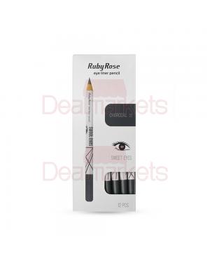 Ruby rose μολύβι ματιών 096 νο 22 (charcoal) display 12tem