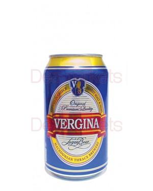 Μπύρα Βεργίνα κουτί 330ml