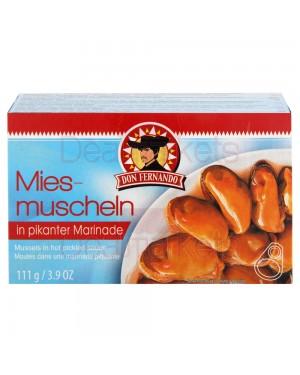 Don Fernado Μύδια σε πικάντικη μαρινάδα 111g