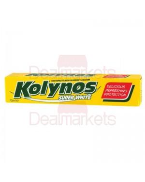 Kolynos οδοντόκρεμα super white 75ml