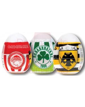 Πλαστικό αβγό Oscar ομάδες 10gr 28τεμ