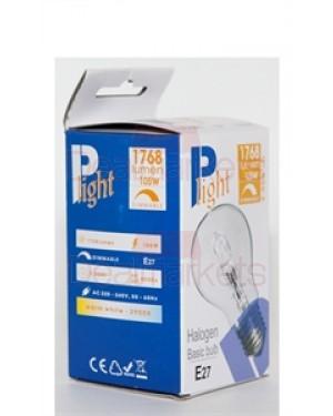 Λάμπα αλογόνου P-light Β22 105W μπαγιονέτ 10τεμ