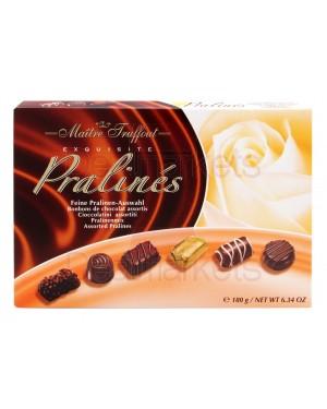 Κασετίνα πραλίνες σοκολατάκια στα Maitre Truffout 180gr