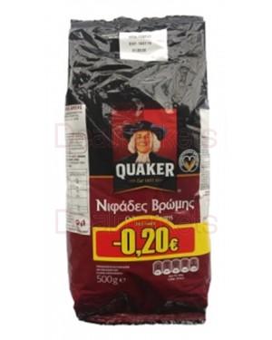 Δημητριακά Quaker νιφάδες βρώμης ολικής άλεσης 500g