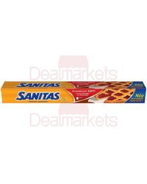 Sanitas αντικολλητικό χαρτί 8μ