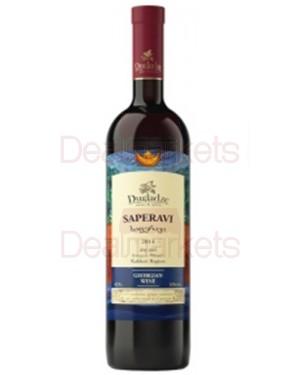 Ερυθρός ξηρός οίνος Saperavi στα 750ml η φιάλη