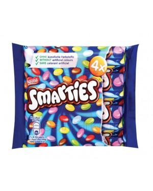 Smarties σε συσκευασία των 4 x 38 gr