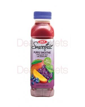 Smoothie Okf grape, raspberry, mango 350 ml (Μωβ)