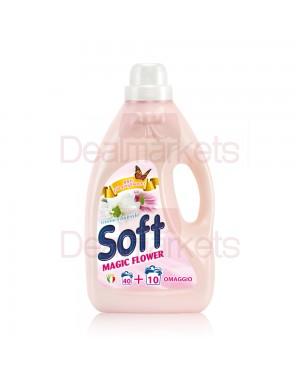 Μαλακτικό ρούχων Soft Flower 40+10 μεζ στα 3lt