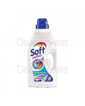 Απορρυπαντικό πλυντηρίου υγρό Soft Κλασικό 32 μεζ στα 2.5lt