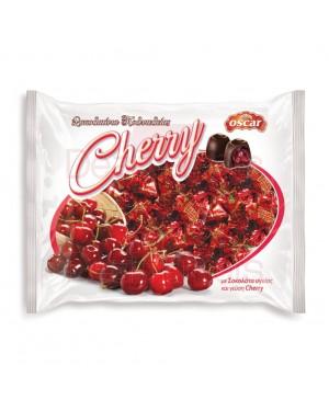 Σοκολατάκια υγείας Cherry Oscar με γέμιση κεράσι 1kg