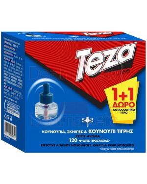 Teza υγρό αντ/κο 1+1 δώρο για 60 νύχτες