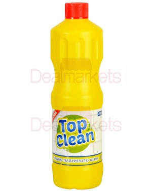Χλωρίνη top clean lemon 750ml