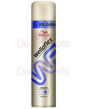 Wellaflex λακ μαλλιών έξτρα δυνατή (no.4) 400ml (εισ.)