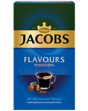 Jacobs flavors καφές φίλτρου φουντούκι 250gr (ελλ.)