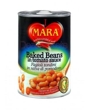Φασόλια Mara σε σάλτσα ντομάτας 420gr