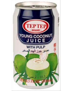 Tep-tep χυμός καρύδας με κομμάτια και γάλα καρύδας 310ml