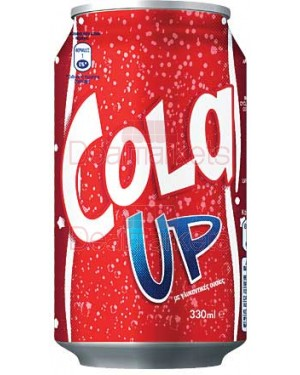Cola Up Nectar 330ml Κουτί