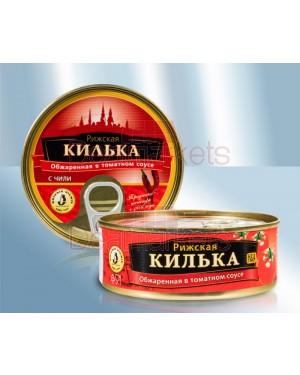 Κίλκα σε καυτερή σάλτσα τομάτας Libava 160gr