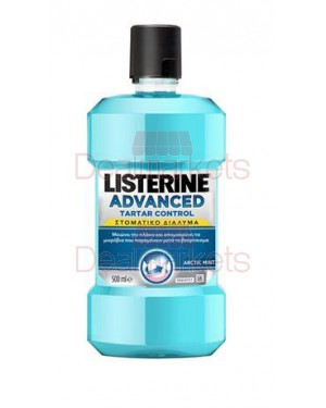 Listerine στοματικό διάλυμα advanced tartar control 500ml (ελλ.)