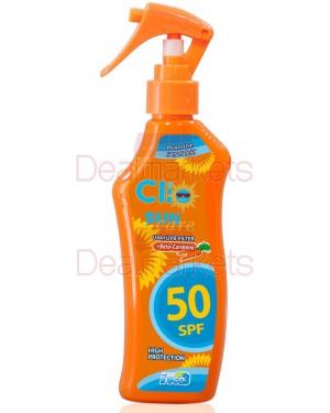 Clio αντιηλιακό γαλάκτωμα σε σπρέι spf50 200ml