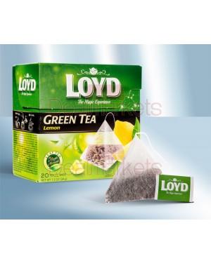 Πράσινο τσάι με λεμόνι Loyd 20 φακελάκια 1,7gr