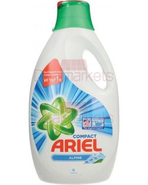 Ariel alpine υγρό πλυντηρίου 42μεζ 2310ml ελλ.