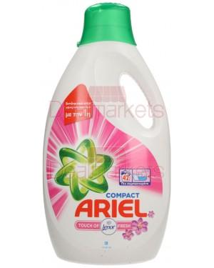 Ariel touch of lenor fresh υγρό πλυντηρίου 42 μεζ 2310ml ελλ.
