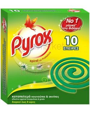 Pyrox εντομοκτόνο σε σπείρες 10τεμάχια