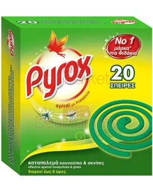 Pyrox εντομοκτόνο σε σπείρες 20τεμάχια