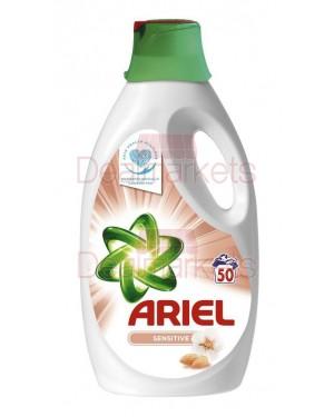 Ariel sensitive υγρό απορρυπαντικό πλυντ. 2,750l 50mez (εισ.)
