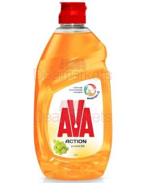 Ava action υγρό πιάτων λευκό ξύδι 430ml