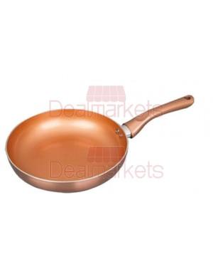 Keystone τηγάνι αλουμινίου κεραμικό copper επαγωγικό no 30