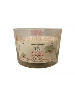 Hf κερί σε χαμηλό ποτ. άρωμα ορχιδέα 30 ωρών (120gr) 20,5cl ελλ.