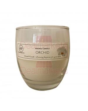 Hf κερί σε ψηλό ποτ. άρωμα ορχιδέα 30 ωρών (120gr) 24,5cl ελλ.