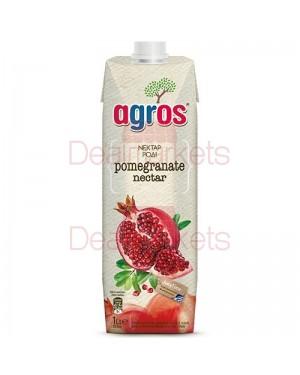 Χυμός Νέκταρ Ρόδι Agros 1L