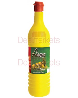 Lemon dressing Alpha leone 390ml