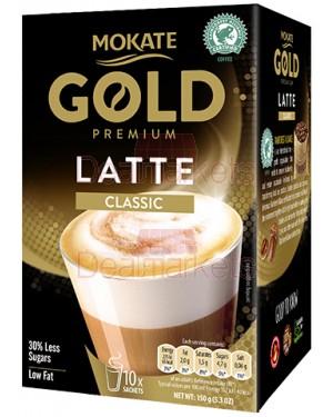 Latte classic Βελγική Mokate Gold Premium 10 * 15gr