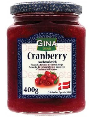 Μαρμελάδα GINA crunberry 400gr