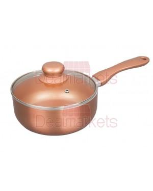 Κατσαρολάκι Keystone κεραμικό Copper επαγωγικό Νο18