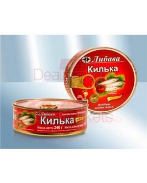 Σπρότι με σάλτσα τομάτας Libava 240gr