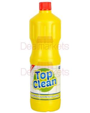 TOP CLEAN  ΧΛΩΡΙΝΗ ΛΕΜΟΝΙ 1250ml
